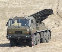 RM-70 122mm MLRS - Polish Army
