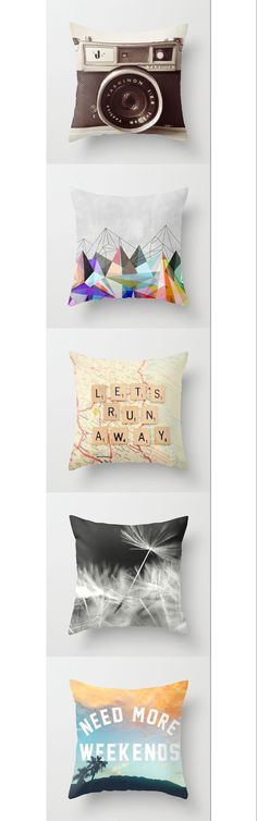 These pillows