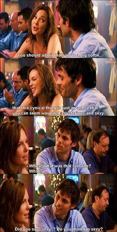 27 Dresses Shia Labeouf, Logan Lerman, Forrest Gump, Movies And Series, Movies And Tv Shows, Tv Show Quotes, Movie Quotes, Amanda Seyfried, Funny Movies