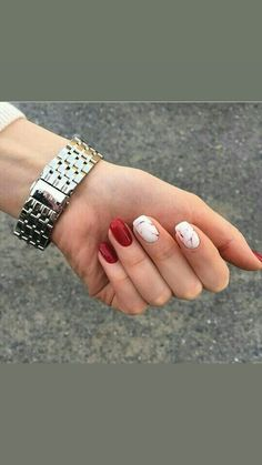 Best Picture For Makeup Art hijab For Your Taste You are looking for something, and it is going to tell … Red Nail Art, Nail Polish Colors, Nail Manicure, Gel Nails, Finger, Pretty Nail Colors, Nails Only, Super Nails, Holographic Nails