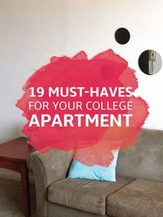 uncategorized must haves for your college apartment college apartment essentials 2 Boho Apartment, College Girl Apartment, College Living Rooms, College House, College Apartments, 1st Apartment, Design Apartment, Cool Apartments, Dream Apartment