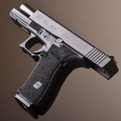 Atomic Tactical Inc. Glock Stippling, Salient Arms, Indoor Shooting Range, Custom Glock, Undercut, Good Grips, Tactical Gear, Firearms, Hand Guns