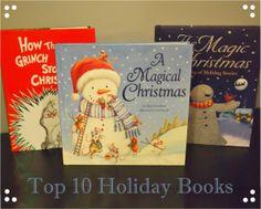 Top 10 Holiday Books | www.makeoversandmotherhood.com