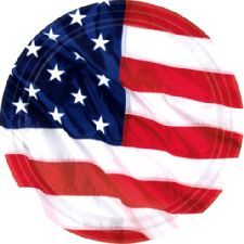 USA Flag Plates. These characteristic plates are perfect to use for any meal this Thanksgiving and look great together with napkins, cups and a tablecover. http://www.novelties-direct.co.uk/USA-Flag-Plates.html