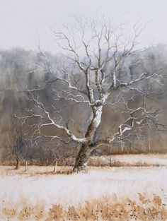 """""""Olde Grandeur"""" (watercolor, 24 x 18)"""