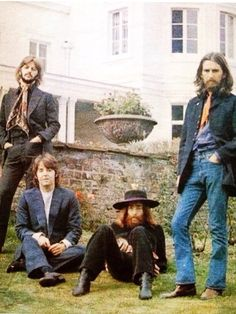 """August 22, 1969 - The Beatles last photo shoot.  On this day in 1969, two days after their final recording session, the Beatles gathered at Tittenhurst Park, where John Lennon and Yoko Ono resided, for a photo shoot they didn't realize would be their last — an instance of those bittersweet """"unknown lasts"""" that wedge themselves between our lived experience and our memory, sometimes violently and other times with the tender wistfulness of nostalgia."""