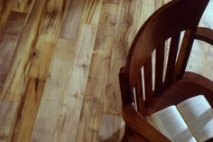 California Laurel flooring by Green Mountain Woodworks