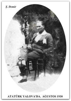 ATATÜRK YALOVA'DA. AĞUSTOS 1930