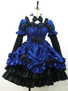 Chantilly - OP - Princess OP /// ¥32,025 /// Bust:  About 70~108cm Waist:  About 70~108cm Length:  About 90cm