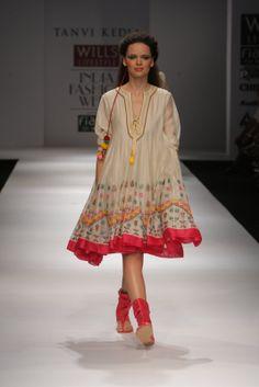 Another fantastic designer, Tanvi Kedia.
