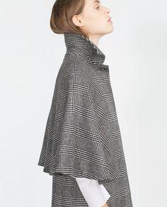 Image 3 of CHECKED COAT from Zara