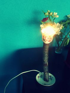 selve made lamp