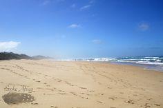Wilderness Beach, Garden Route in South Africa