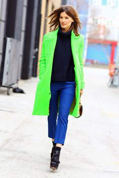 green coat - Pesquisa Google