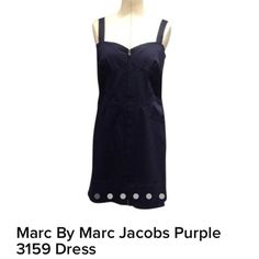 Marc Jacobs purple dress Marc Jacobs purple dress, new with tags, size 10 Marc by Marc Jacobs Dresses Strapless