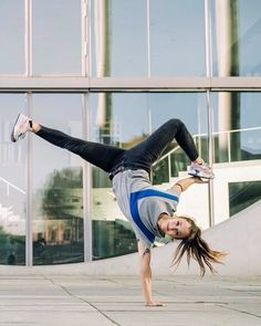 """""""When it comes to breaking you should not see the opportunities that you don't have, but the opportunities that you have."""" - B-Girl Jilou 🙌… Leggings Fashion, Red Bull, Freeze, Opportunity, Ballet Skirt, Things To Come, Goals, Instagram, Art"""