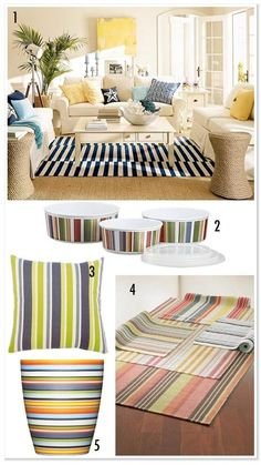 More yellow - stripes - spring into summer