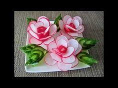 Radieschenblumen / Rose - YouTube