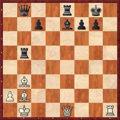 Reto 107: Columnas y diagonales, Luis Pérez Agustí en El arte del ajedrez | FronteraD