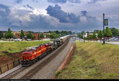 RailPictures.Net Photo: NS 8114 Norfolk Southern GE ES44AC at Kings Mountain, North Carolina by Matthew DeLanghe