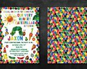 The 25 Best Hungry Caterpillar Invitations Ideas On