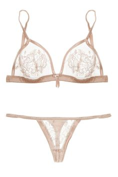 Elle Macpherson Intimates, So Pretty It Hurts Bra and Stretch-Silk Thong