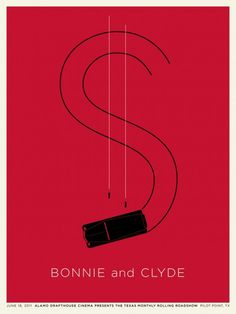 Bonnie & Clyde poster