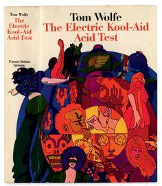 Έργο του Milton Glaser για το The Electric Kool-Aid Acid Test του Tom Wolfe (εκδόσεις Farrar, Straus and Giroux, Νέα Υόρκη, 1968). Αναπαραγωγή από το Milton Glaser Studio, συλλογή Mark Terry/Facsimile Dust Jackets L.L.C.