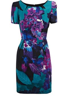 Kew Floral Shift Dress