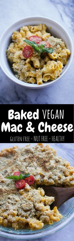 This Baked Vegan Mac and Cheese is so simple that you'll want to make it all the time, and so delicious that you'll have to!