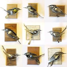 My Owl Barn: Spoons and Forks Turned Into Amazing Sculptures