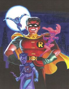Robin by Bruce Timm