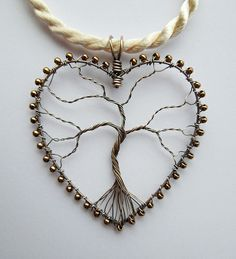 Heart Tree (commission) This would be fun to make.. in a circle instead of a heart...