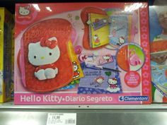 Hello Kitty does Diario Segreto Clementoni [thanks to Mandricus]