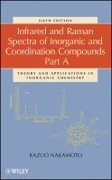 """""""Infrared and Raman Spectra of Inorganic and Coordination Compounds : Theory and Applications in Inorganic Chemistry""""  Kazuo Nakamoto. #novetatsfiq"""