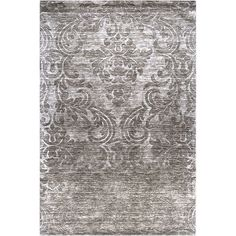 "Hand-crafted Solid Casual Wool Rug (Grey-(3'3"" x 5'3"")), Gray, Size 3'3 x 5'3"