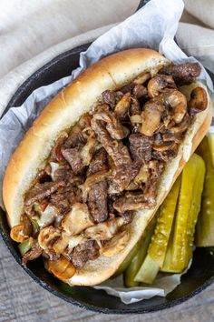 Easy Philly Cheesesteak Recipe (Ultimate Guide) – Momsdish Easy Philly Cheesesteak- Gooey, meaty and melty, a Philly Cheesesteak sandwich is delicious in its simplicity. Cuban Pork Sandwich, Steak Sandwich Recipes, Best Sandwich, Steak Recipes, Cooking Recipes, Easy Recipes, Philly Sandwich, Sandwich Ideas, Cooking Stuff