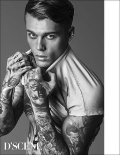 Stephen James Talks for D'SCENE Magazine with Jainnie Cho