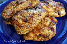 Amees Savory Dish: Best Ever Grilled Chicken Marinade