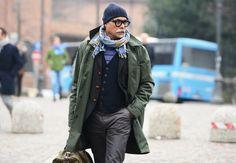 Tommy Ton's Street Style: Pitti Uomo Fall 2013