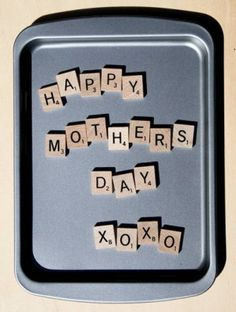 Handmade Gift Ideas: How To Make Scrabble Tile Magnets | Craftster Blog