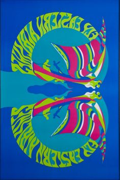 Fly Eastern Airlines - Psychedelic Butterfly