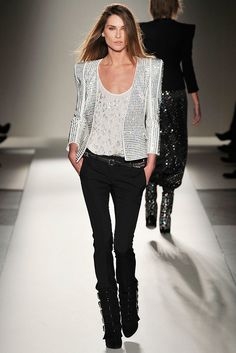 Balmain Fall 2009 Ready-to-Wear Fashion Show - Erin Wasson