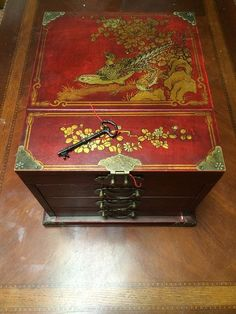Early 20th Century Chinese Jewelry Box Decorative objects Box