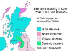 Linguistic Division in 12th Century Scotland Irish English, Old Irish, Military Dictatorship, Irish Language, Greatest Mysteries, Gym Workout Tips, Education System, Picts, 12th Century