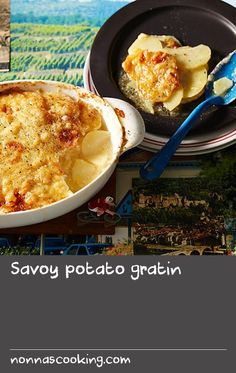 Savoy potato gratin | Alpine families love this classic potato dish, gratin Savoyard, which is very easy to make and delicious. It's usually served at dinner with a salad or at Sunday lunch as part of a feast.
