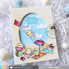 mama elephant | INTRODUCING: Beach Chickies and Sky Bursters CC (video)