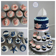 Day 4 of the #7dayArtChallenge. Thank you again to Charlene @prettytastythingscupcakes for inviting me to take part in this 7 day art challenge. Today I'm sharing a gender reveal cake that I did last spring for a fellow caker who was working on her 6th bundle of joy. She wanted coral and navy as the colors and the theme was clearly nautical. Never have I seen a more adorably decorated event room than what she put together . . Today, I would like to invite Heather @sprinklemesilly to share...