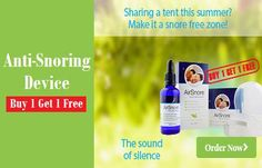Buy One Get One Free Anti-Snoring Device By AirSnore
