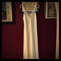 White satin nightgown. Never worn. White satin nightgown. Never worn. Full length. make me an offer  MS25 Jones New York Intimates & Sleepwear Pajamas